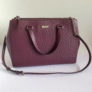 Kate Spade Cherrywood Bristol Drive Loden purse